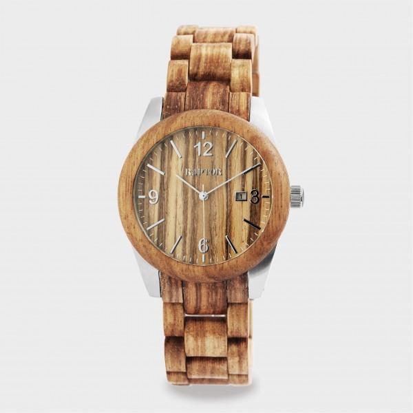 RAPTOR Unisexuhr aus Holz
