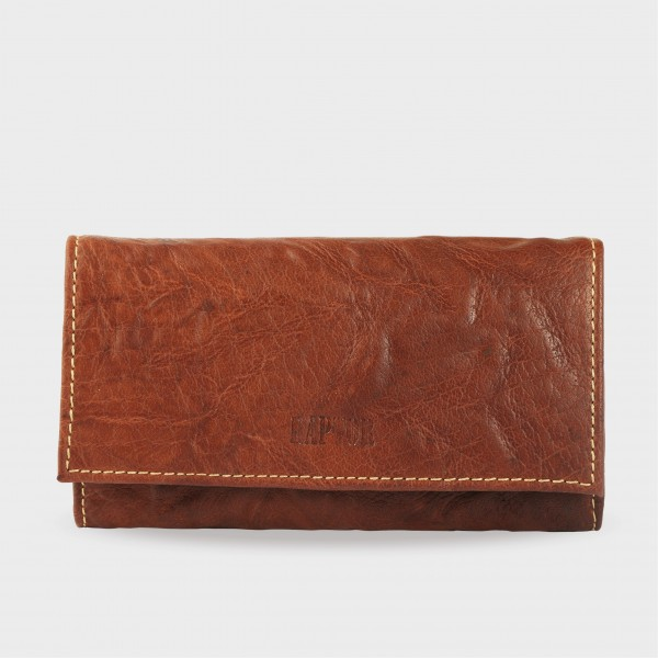 Raptor Damen Geldbörse aus Echtleder. Format 19 x 10 cm.
