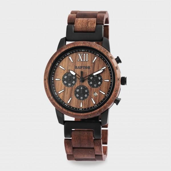 Raptor Limited Herrenchronograph aus Holz